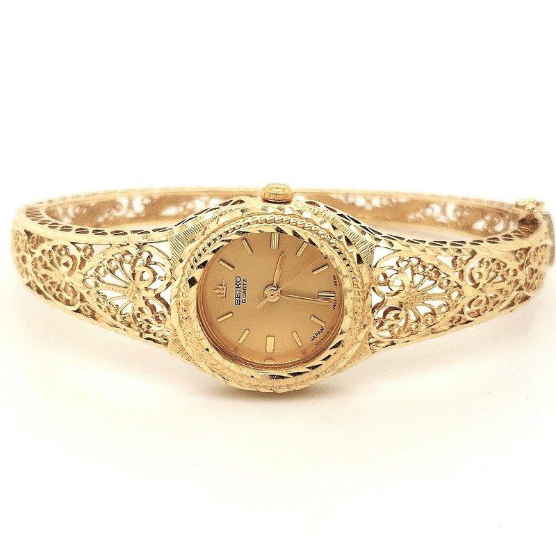Estate Collection Ladies Gold Seiko