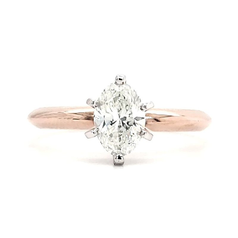 Sartor Hamann Bridal .71 CT Oval Solitaire