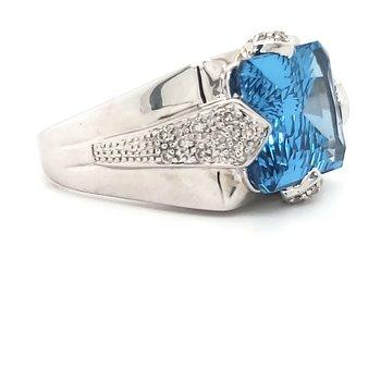 Topaz Fashion Ring