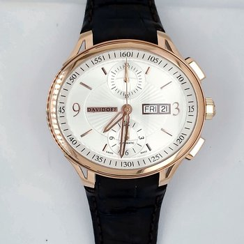 Davidoff 18K Rose Gold Watch
