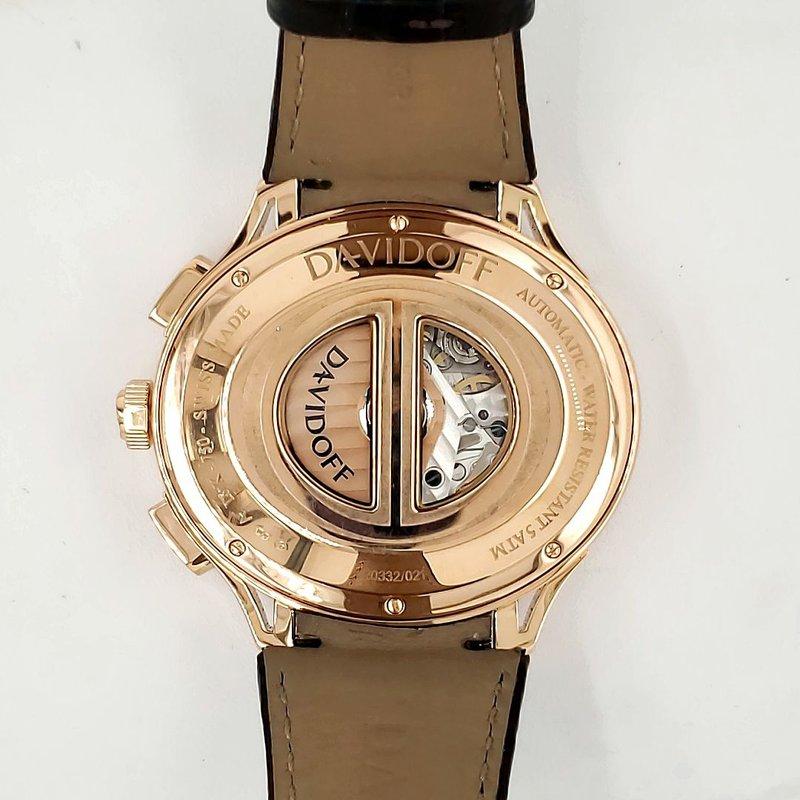 Estate Collection Davidoff 18K Rose Gold Watch