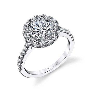 RLCZ1401 Engagement Ring Semi-Mount 18K WG