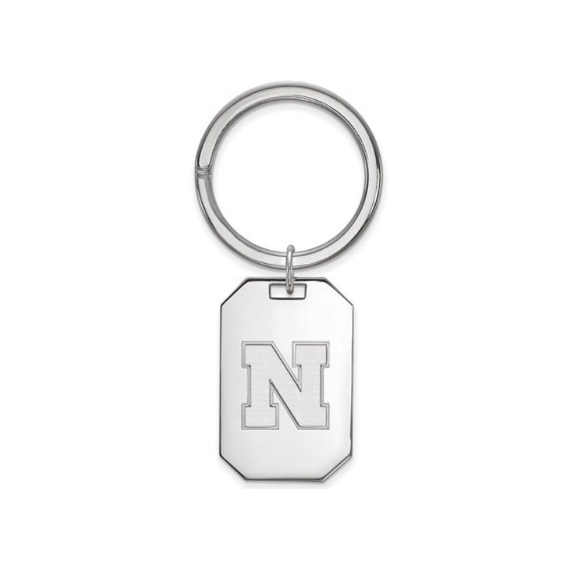 "Husker Jewelry Collection Nebraska ""N"" Key Chain"