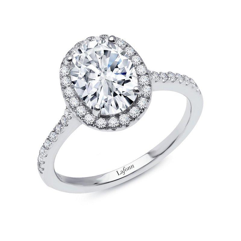 Sartor Hamann Signature Lafonn Sterling Silver Halo Ring