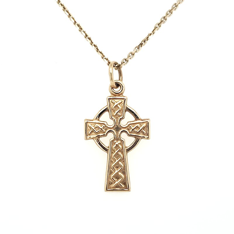 Estate Collection Celtic Cross Pendant