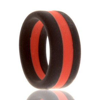 Fire Silicone Wedding Band