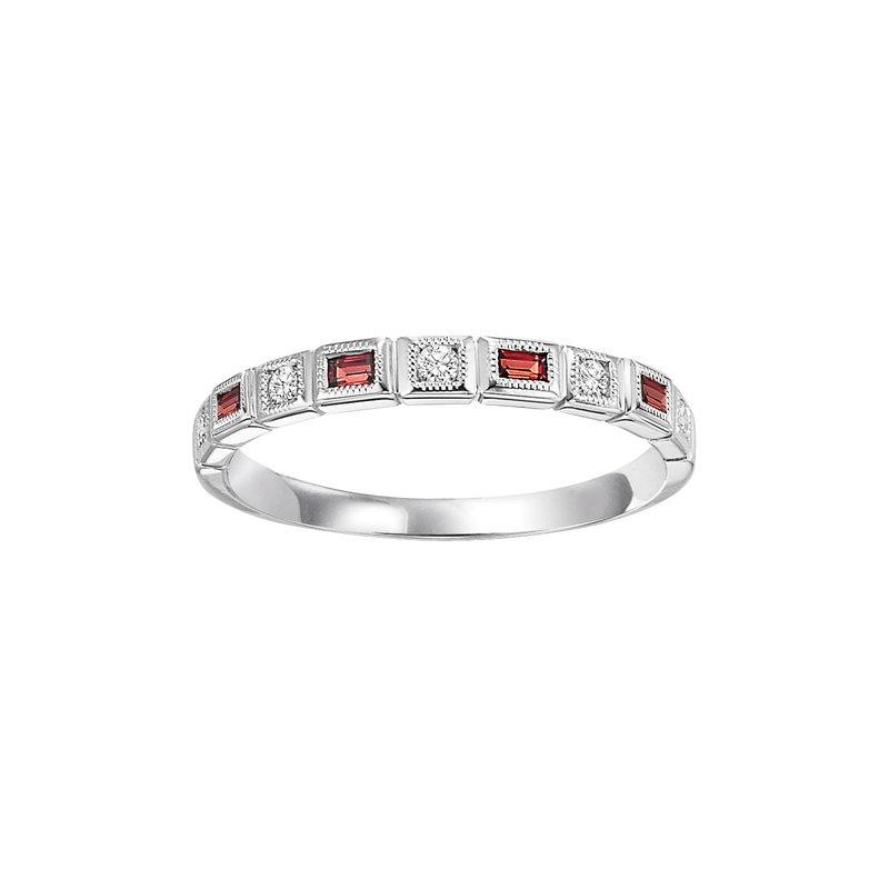 Sartor Hamann Signature Garnet Mixable Birthstone Rings in 4 Styles