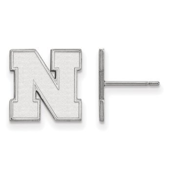 "Husker ""N"" Stud Earrings"