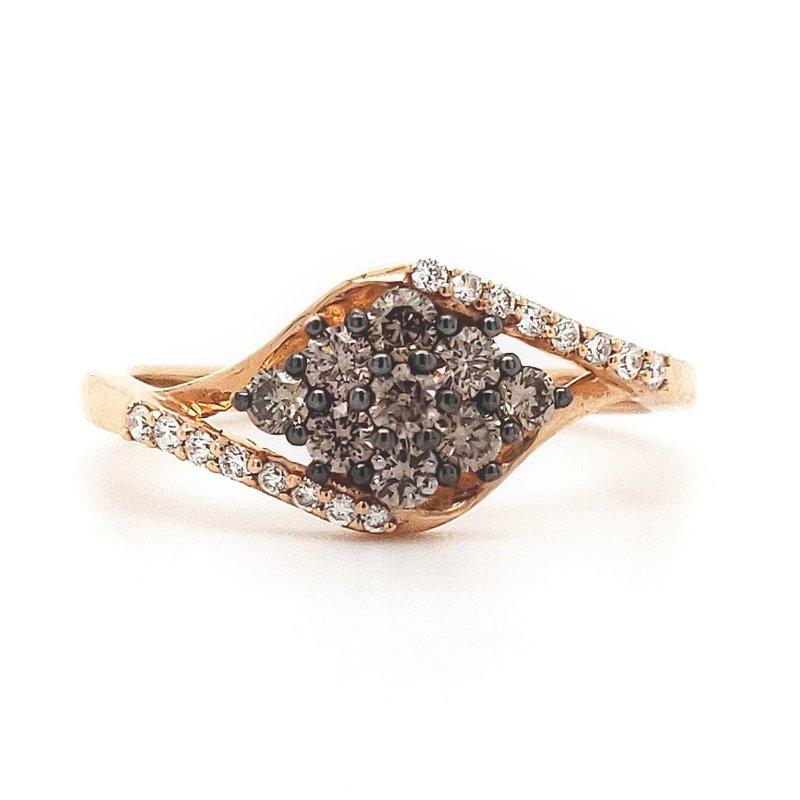 Sartor Hamann Closeouts Le Vain Chocolate Diamond Ring
