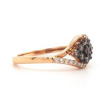 Le Vain Chocolate Diamond Ring
