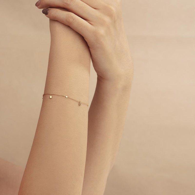 Aurelie Gi Allie Teardrop Bracelet