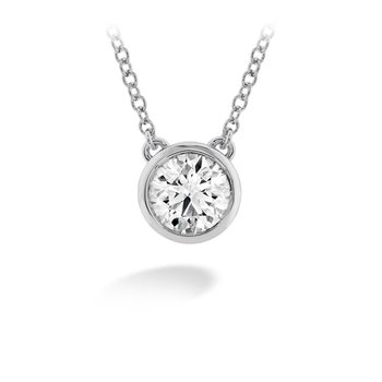 Hearts on Fire Diamond Solitaire Pendant