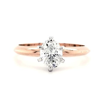 .71 CT Oval Solitaire