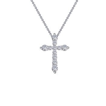 Lafonn Sterling Silver Cross Pendant