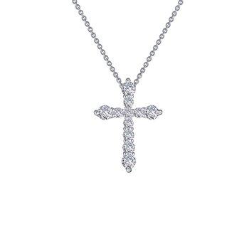 Lafonn Sterling Silver Cross Pendant