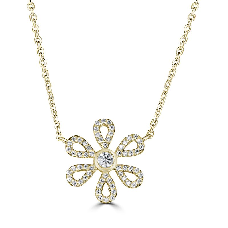 Sartor Hamann Signature Diamond Flower Pendant