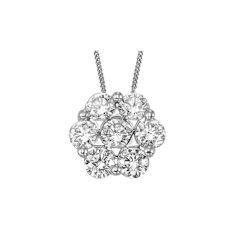 Sartor Hamann Signature Lab Created Diamond Pendant