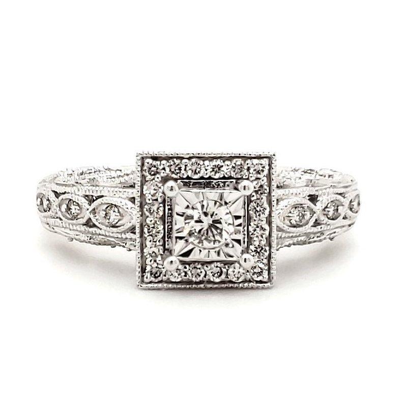 Sartor Hamann Closeouts Engagement Ring