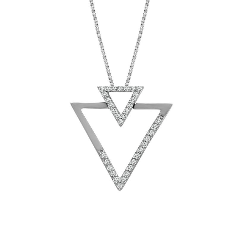 Sartor Hamann Signature Diamond Triangle Pendant