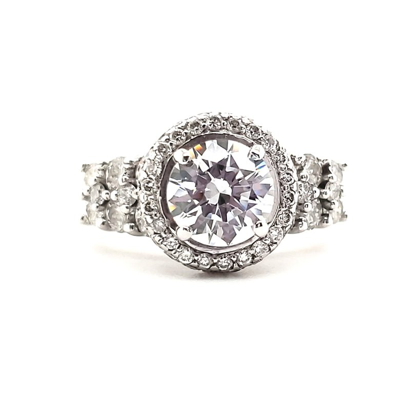 Estate Collection Engagement Ring Semi-Mount