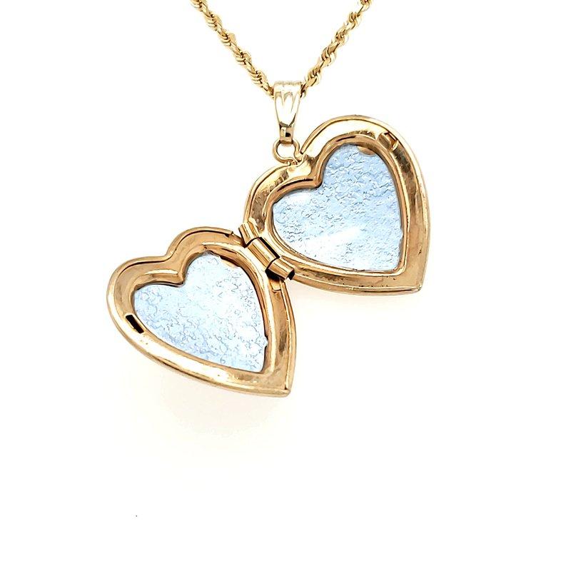 Estate Collection Heart Locket