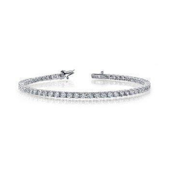 """Lafonn Sterling Silver Tennis Bracelet - 7.25"""""""