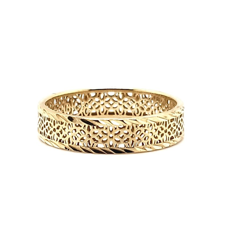 Estate Collection Floral Cut-Out Band