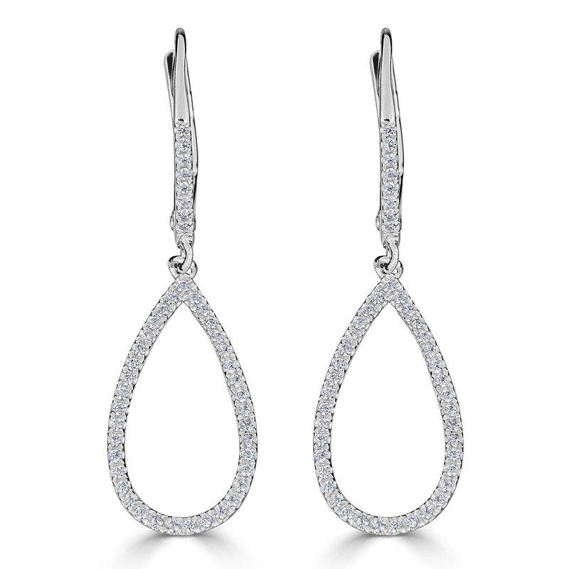 Sartor Hamann Signature Diamond Dangle Earrings