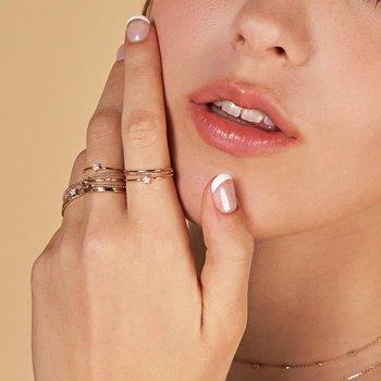 Felicty Diamond Star Ring