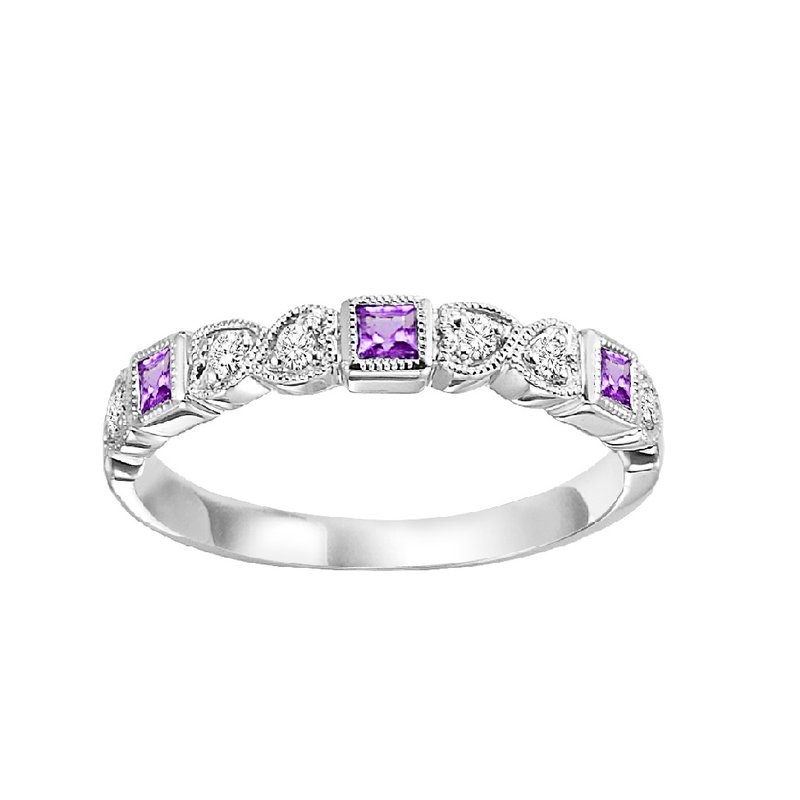 Sartor Hamann Signature Created Alexandrite Mixable Birthstone Rings in 4 Styles