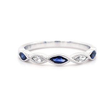 Beverley K Sapphire and Diamond Band