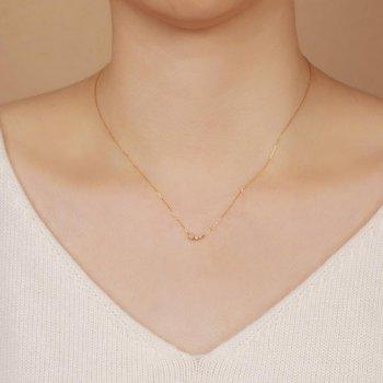 Zara Opal and Diamond Necklace