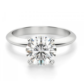 Lab Created Solitaires  1/2 CT to 3 CT - Classic Quality