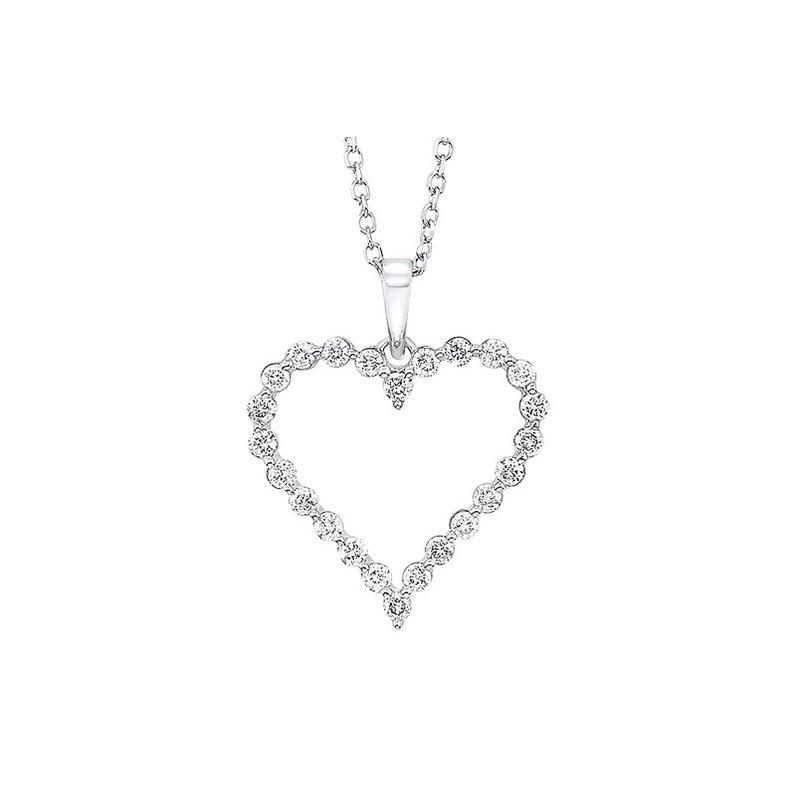 Sartor Hamann Signature Diamond Heart Pendant