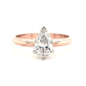 .71 CT Pear Shape Solitaire