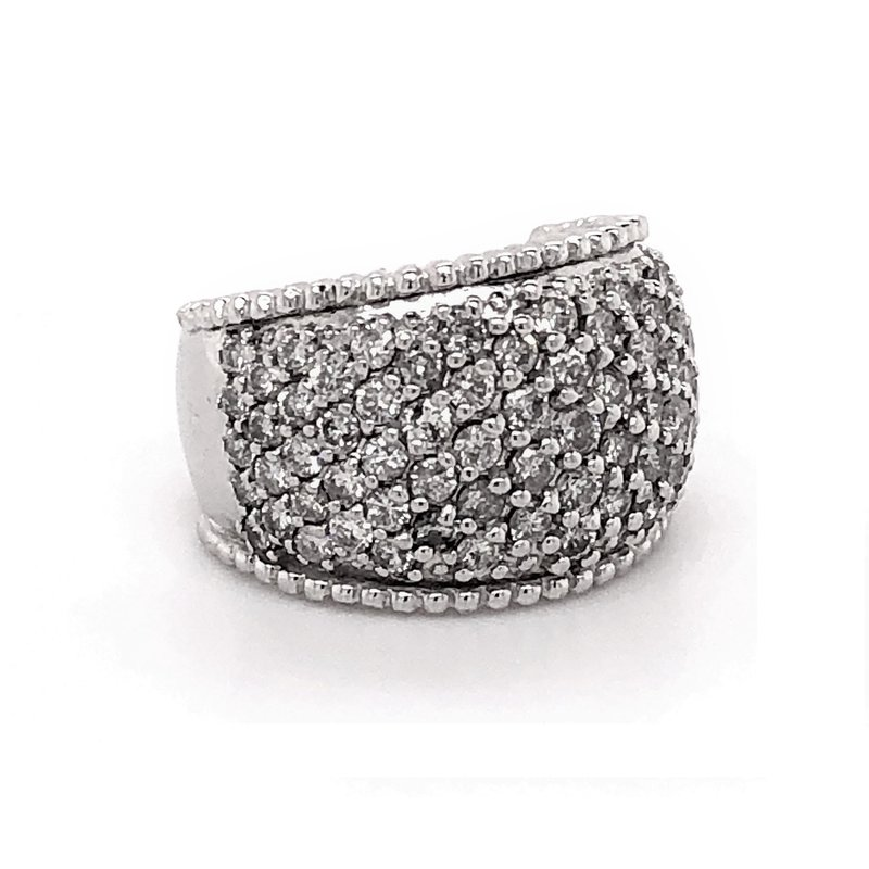 Estate Collection Pave Diamond Ring