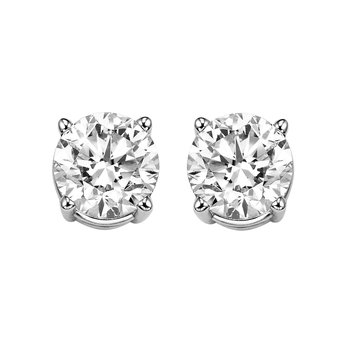 SPECIAL VALUE! Diamond Studs in 6 Carat Weights