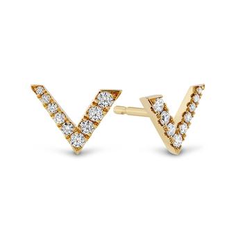 Hearts on Fire Charmed V Earrings