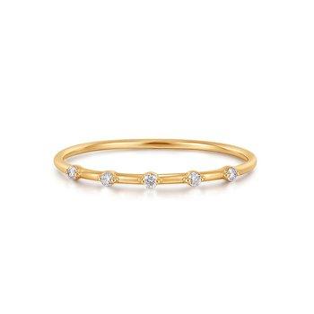 Luellea Floating Diamond Ring