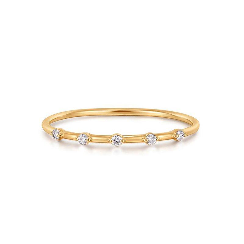 Aurelie Gi Luellea Floating Diamond Ring