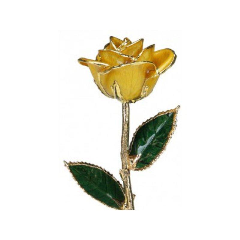 Sartor Hamann Signature Yellow Rose - 24KT Trimmed