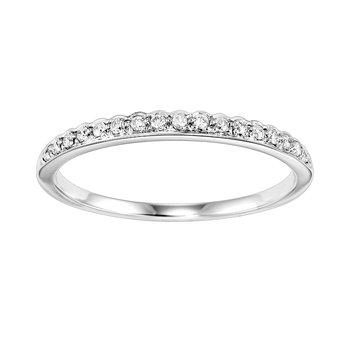 14K Diamond Mixable Ring