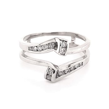 Diamond Jacket Wedding Bands