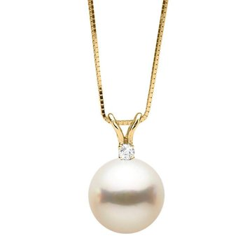 Pearl and Diamond Pendant from $250