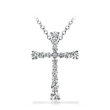 Hearts on Fire Divine Journey Cross Pendant