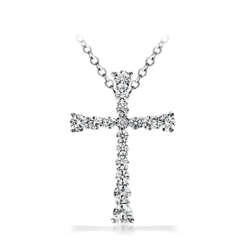 Sartor Hamann Signature Hearts on Fire Divine Journey Cross Pendant