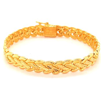 22K Braided Bracelet