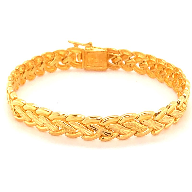 Estate Collection 22K Braided Bracelet