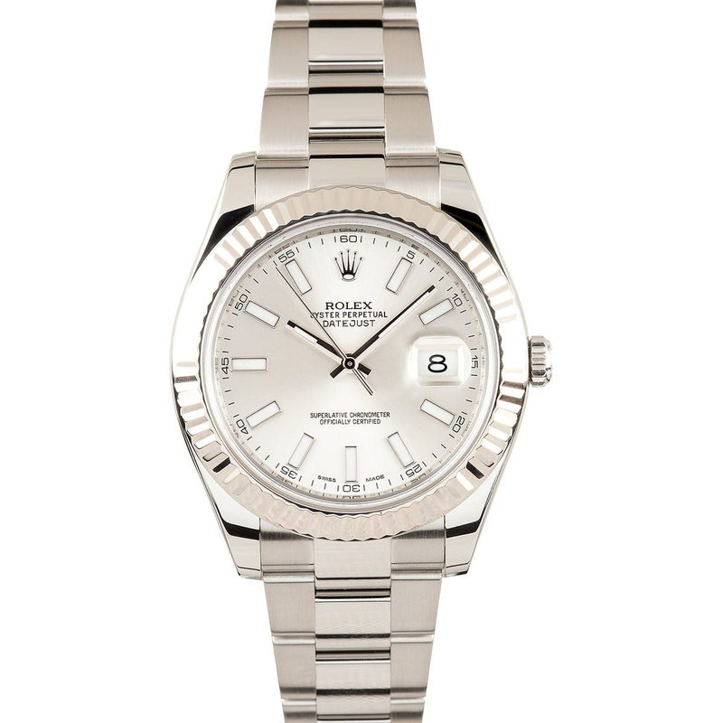 Pre-Owned Rolex Datejust Watch - 41mm