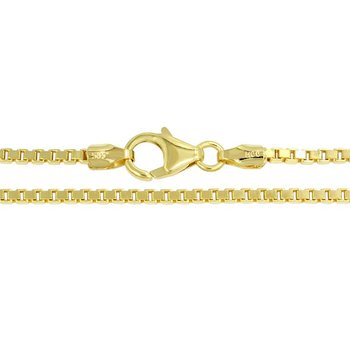 Box Chain 1.25 mm (14K)